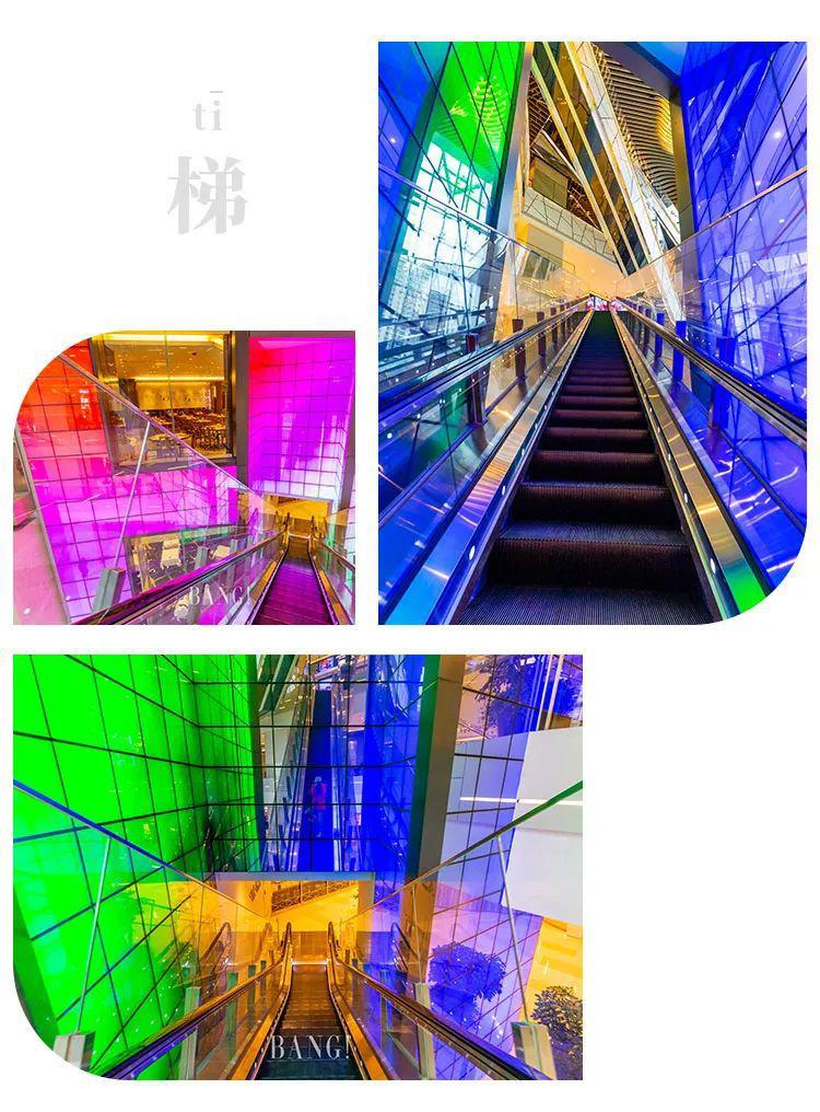 魔都Shopping Mall扶梯出片指南,皆是光影可迷情