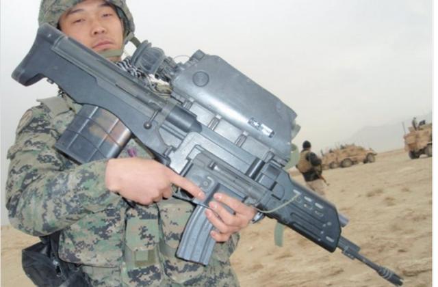最强单兵作战步枪:第1中国造外观科幻,第2来自法国,像一只鱼