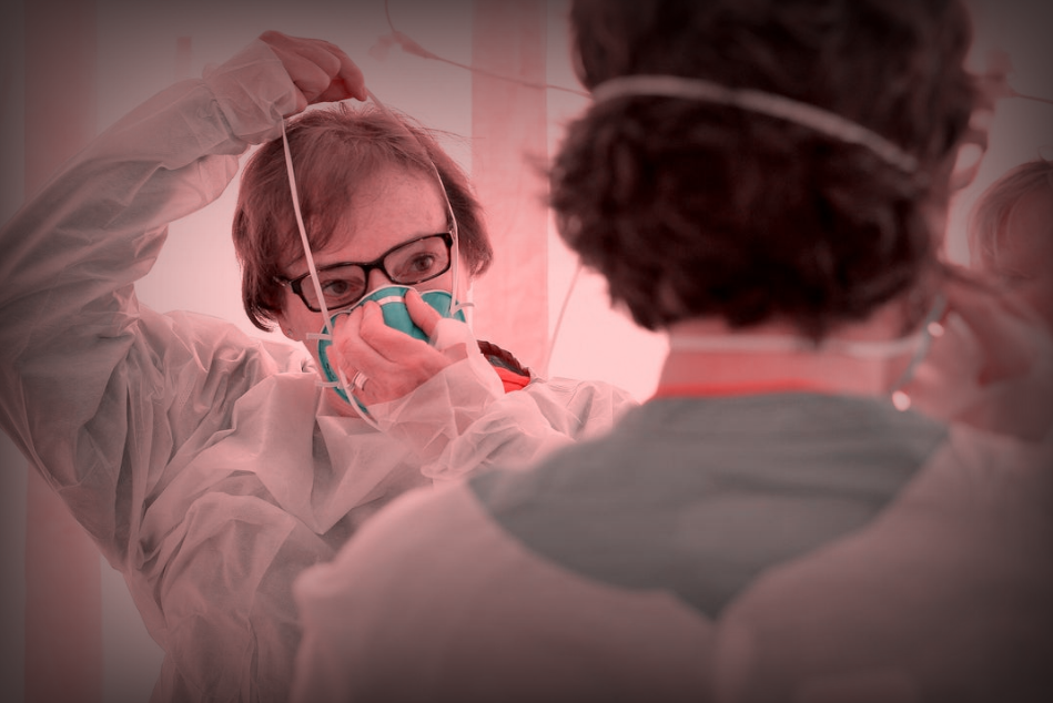 美国确诊病例近19万,纽约急需医疗物资,白宫禁止对华采购口罩?