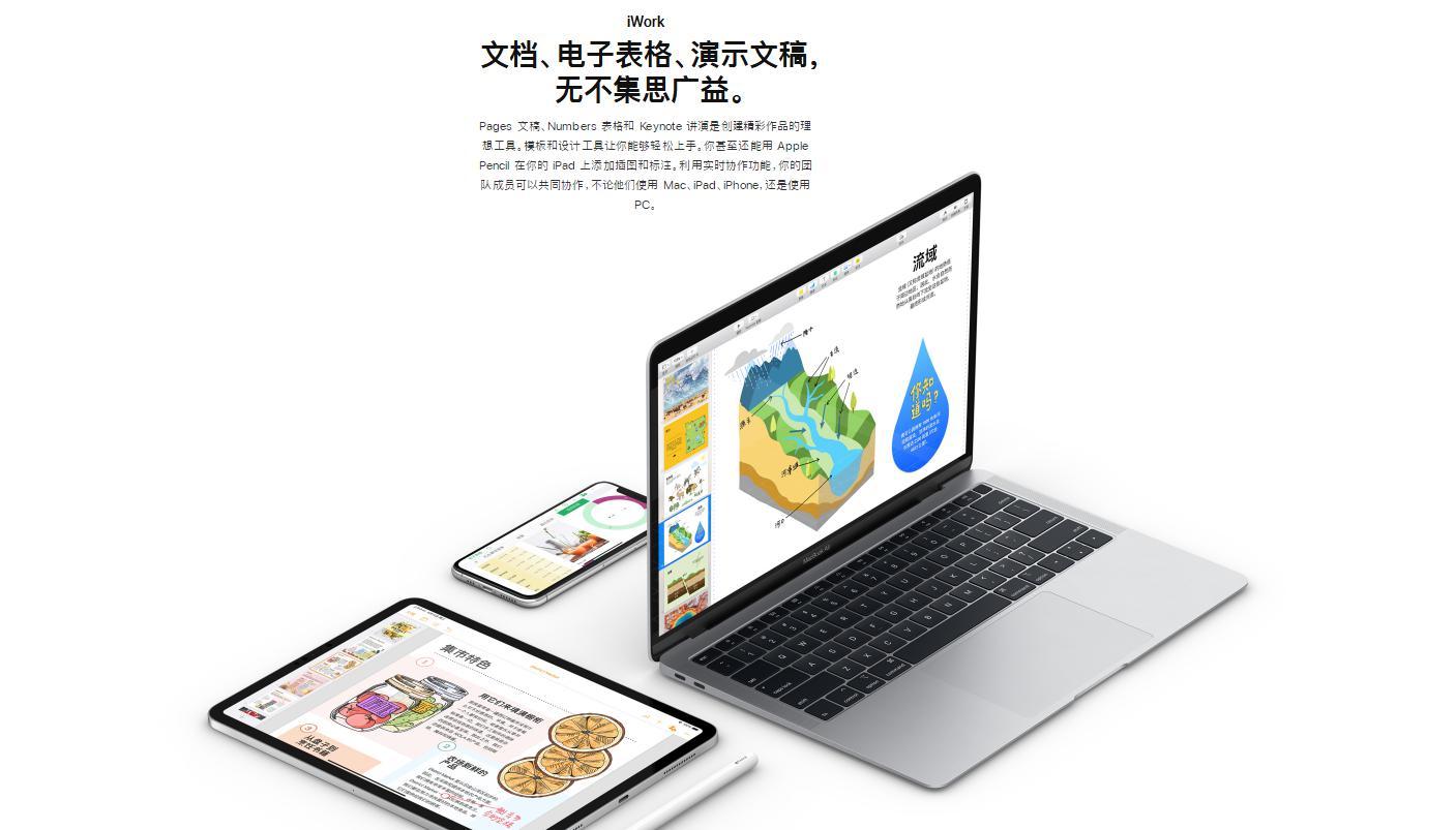 支持鼠标键盘!苹果办公三件套更新:完美兼容iPhone新系统