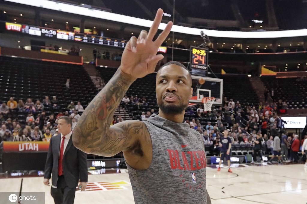 利拉德:自己未接受新冠检测 不赞同NBA改变赛程