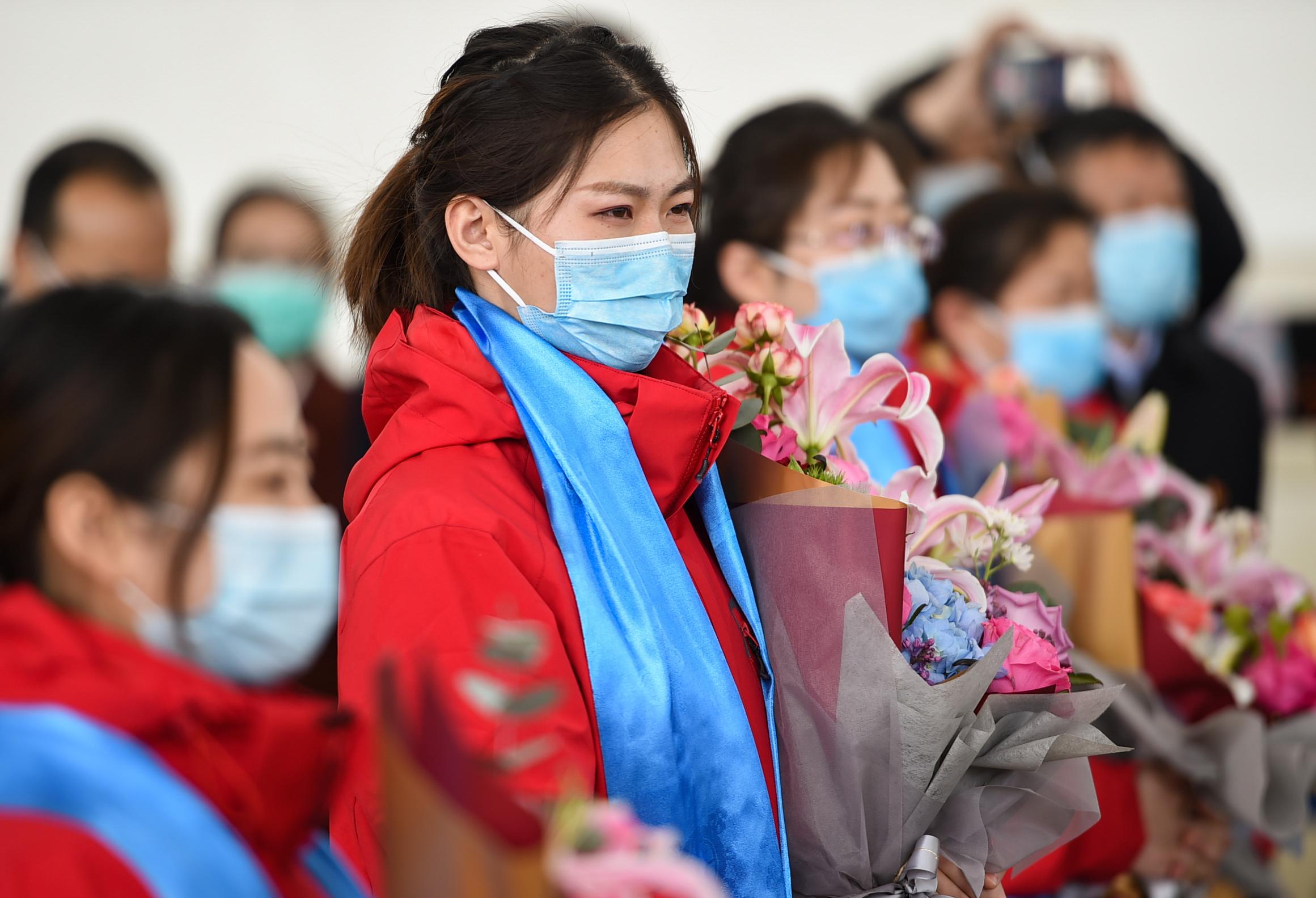 呼和浩特:首批支援湖北医疗队6名队员结束集中休养