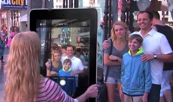 iPad Pro 的超广角相机,不只