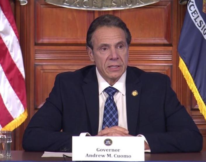 弟弟确诊,纽约州州长:母亲两周前去过他家,这是个错误