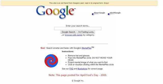 原创             谷歌开创的愚人节玩笑,接力到国内有多好玩呢?