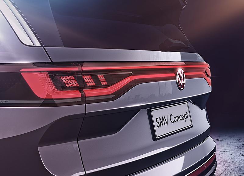 一汽-大众全新中大型SUV白车身下线