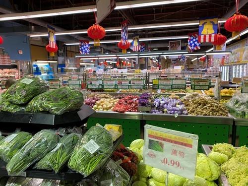 芝加哥部分华人超市缩短营业时间 中餐厅暂停营业