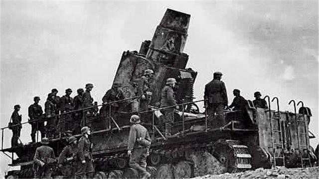 1350吨巨炮,需3000名士兵一起合作,曾一炮打爆地下弹药库