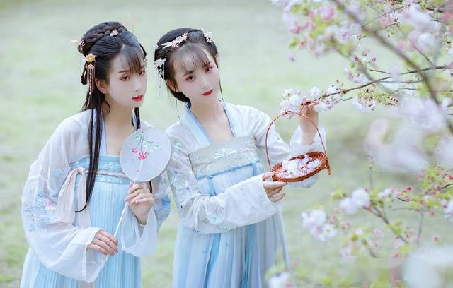 南宁芦仙山 | 满园樱花盛开,诚邀您前来一场汉服樱花秀!