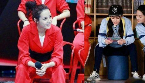 """女星坐姿,杨幂""""拧麻花"""",刘诗诗很优雅,而她完全没有偶像包袱"""