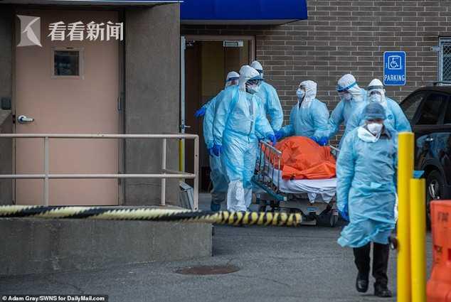 纽约设立移动停尸房处理尸体 火葬场昼夜运行
