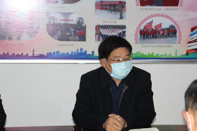 邓州市六高中召开开学复课工作专题会议