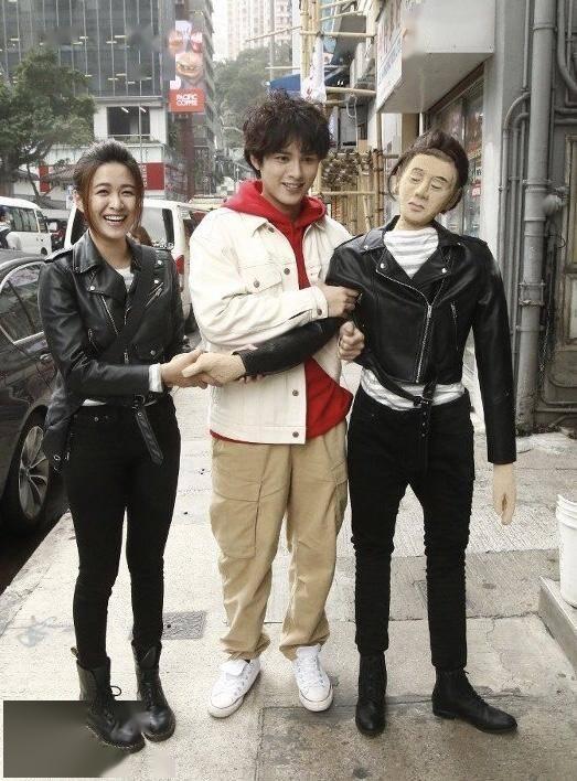 『剧集』TVB二线女演员新剧穿心型婚纱 与人夫演一对没有太多亲热戏