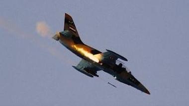 """利比亚""""国民军""""称击落一架民族团结政府战机"""