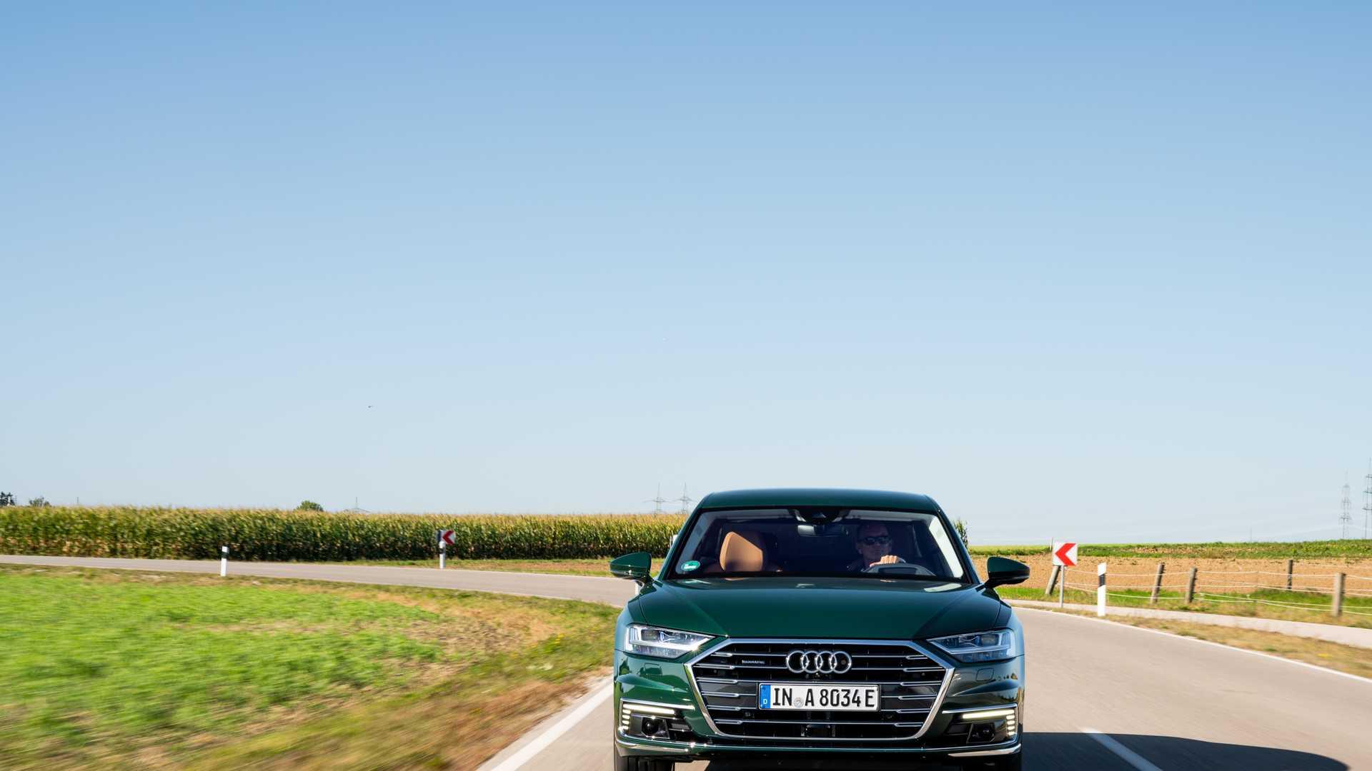 奥迪A8放弃纯电版车型 插混版纯电续航里程将增加