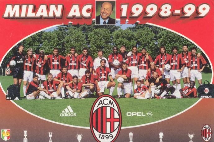 原创            「资料」AC米兰1998-1