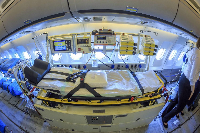 会飞的医院:德国军机开设ICU跨国转运重症患者_德国新闻_德国中文网