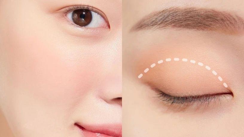 眼影手残者必学!同眼型画法教学,矫正眼型、放大双眼