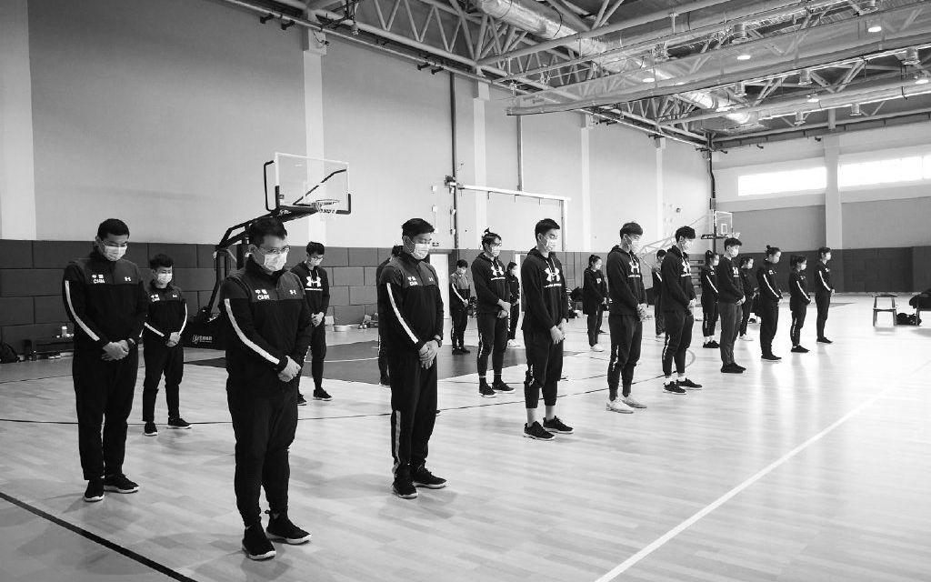 『张伟丽』张伟丽等名将发声缅怀,国乒和中国篮球队集体默哀
