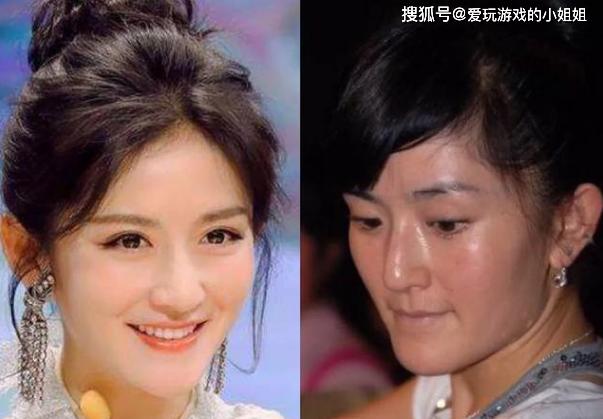 原创卸了妆的女明星,哪一个的样子是让你意想不到的?