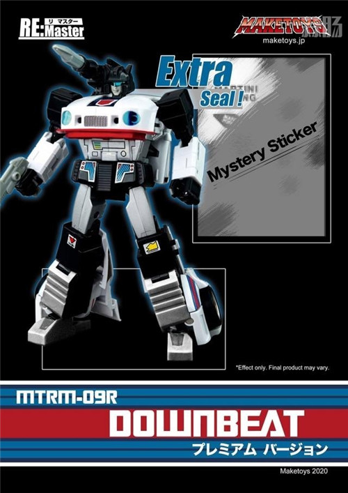 MakeToys宣布5月下旬推出MTRM-09R Downbeat爵