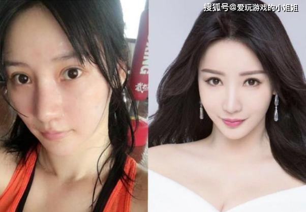原创哪些女星卸了妆的样子让你不忍直视?