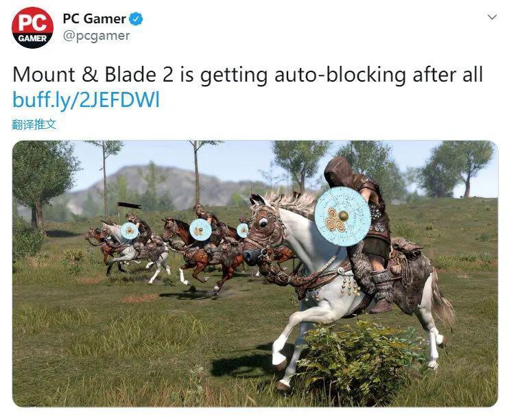 《骑马与砍杀2》更新实现100%汉化!将添加自动
