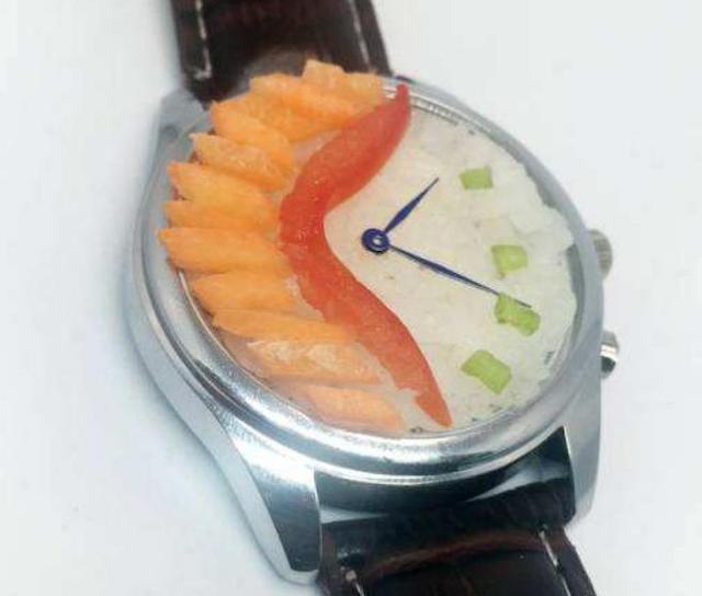 """日本人又脑洞大开,设计""""便当手表"""",还附赠迷你筷子?"""