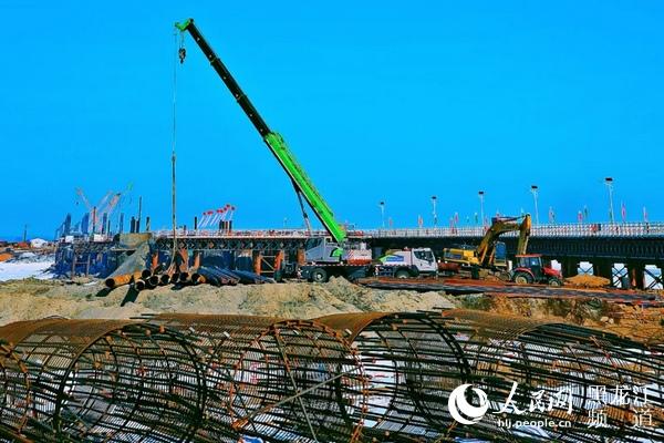 """黑龙江省建投集团全力推进""""百大项目""""建设"""