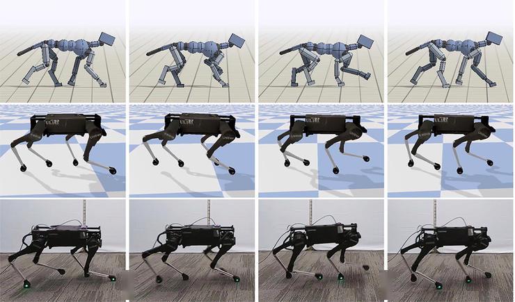 谷歌的一项新研究,让机器狗小跑起来成为可能