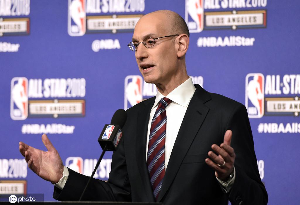 肖华:一旦获得卫生部门许可 NBA愿意带头重启联赛