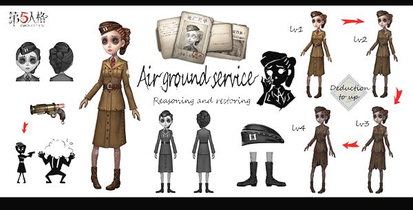 第五人格玛尔塔真实身份解密,并不是空军,而是一名间谍