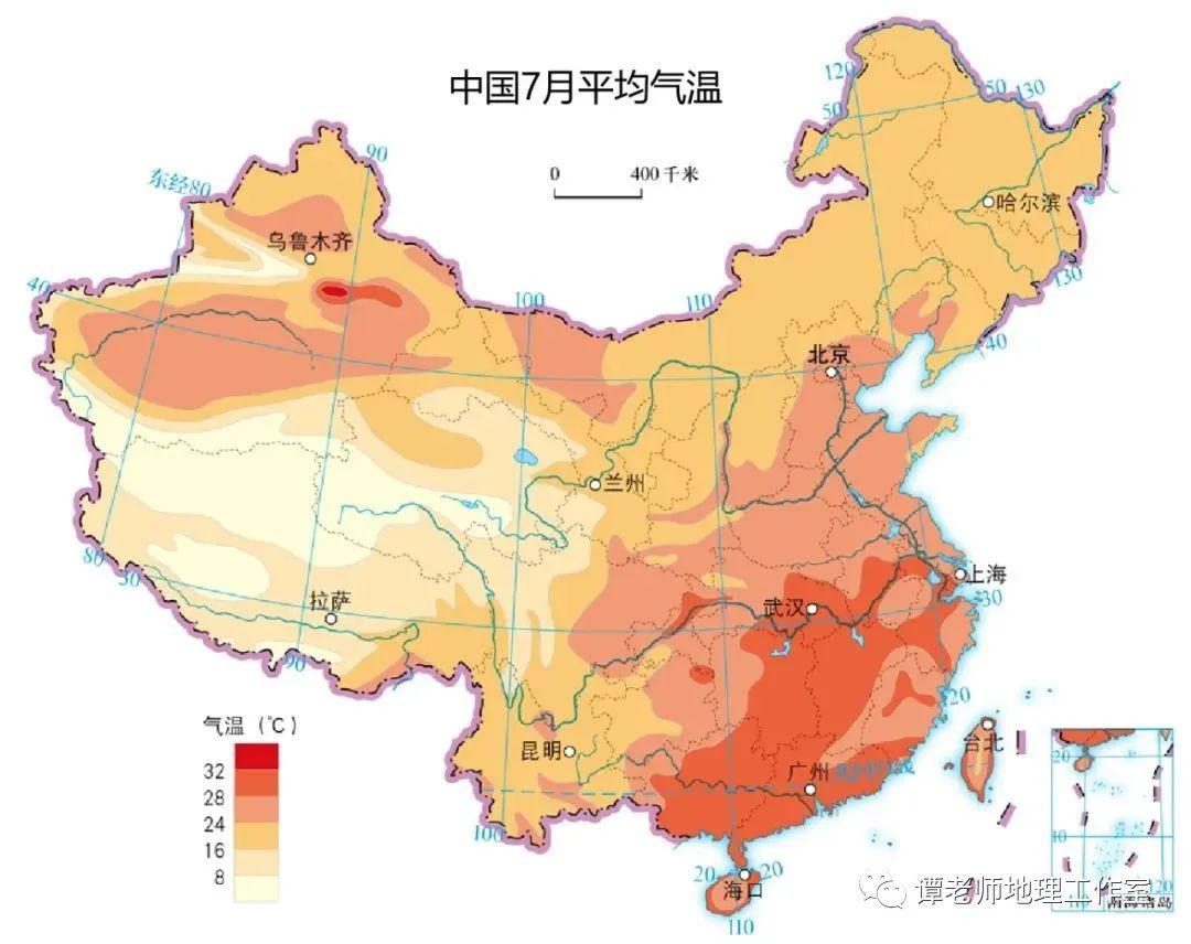 亚洲气候类型分布图 亚洲主要有哪些气候类型 主要分布在哪里