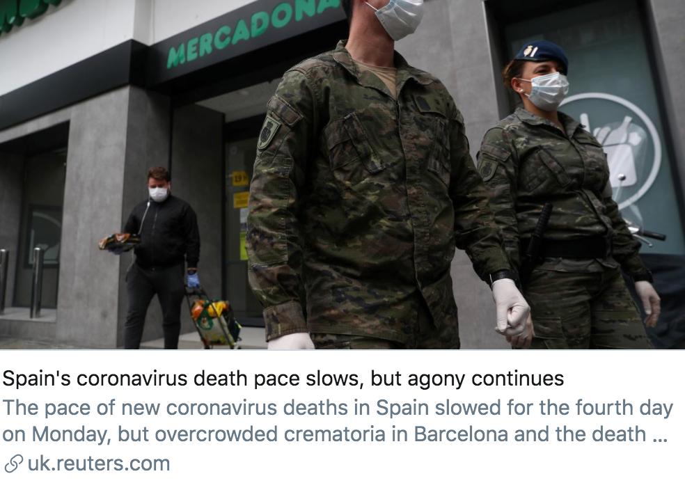 """确诊病例数超14万,西班牙成欧洲疫情新""""震中"""""""