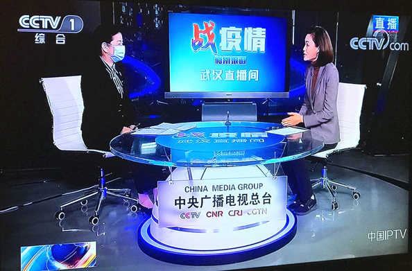 湖北监利解封在即 就社区防控工作 央视记者再访武汉市市委政法委副书记罗平