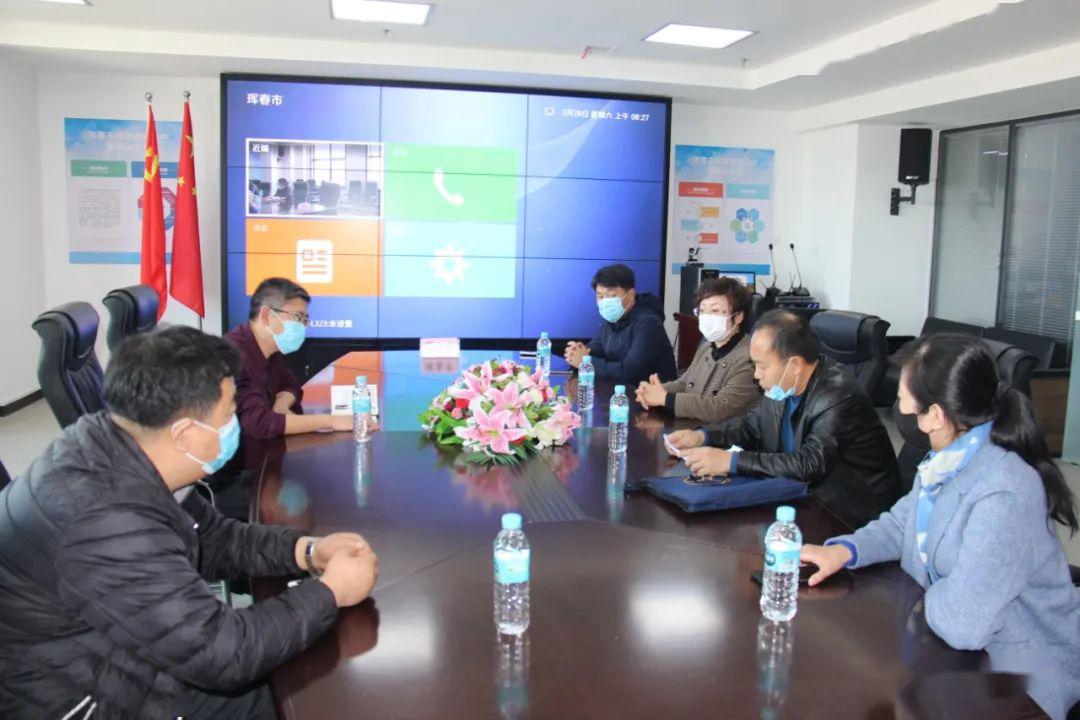 延边州生态环境局领导到珲春市巡查督导秸秆禁烧工作