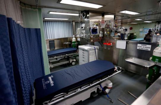 白宫出动的美海军医疗船遭闲置,纽约出大招,时薪100美元招聘护士