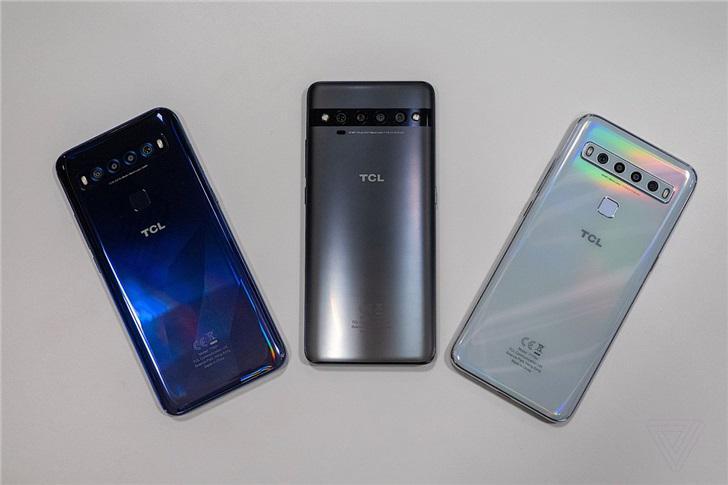 【Pro】TCL发布首个智能手机系列:TCL 10 Pro/10 5G/10L,