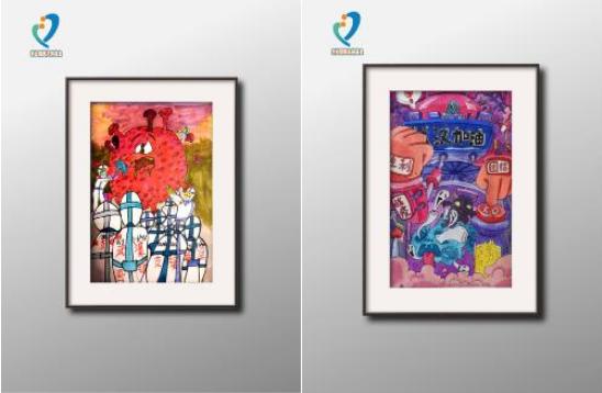 """""""童心战疫""""绘画作品线上拍卖会 英国威廉希尔公司中国网站捐赠助力复工复产"""