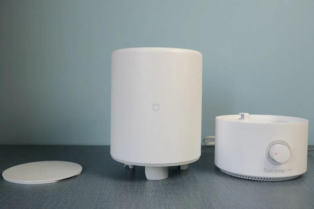 米家加湿器:分体设计,加水清洁更方便 | 钛开箱
