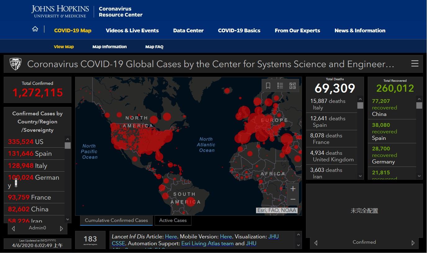 """「疫情」日点击超10亿 两名中国博士生""""操盘""""全球最流行新冠肺炎疫情图,"""