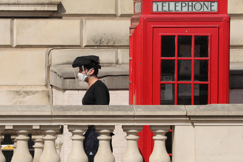 疫情下的英国街头