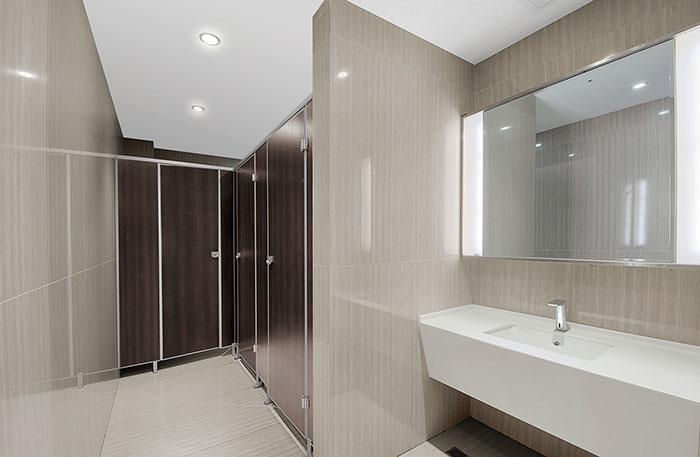 厂房办公室装修卫生间设计