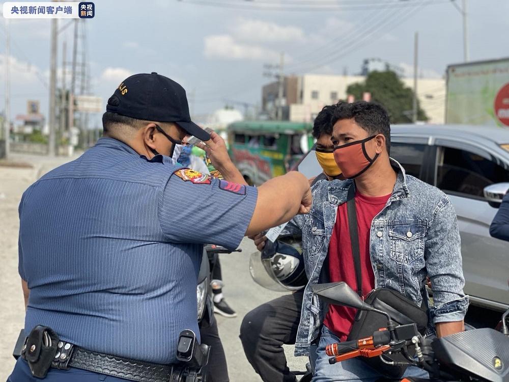 菲律宾累计25名警察确诊感染新冠肺炎