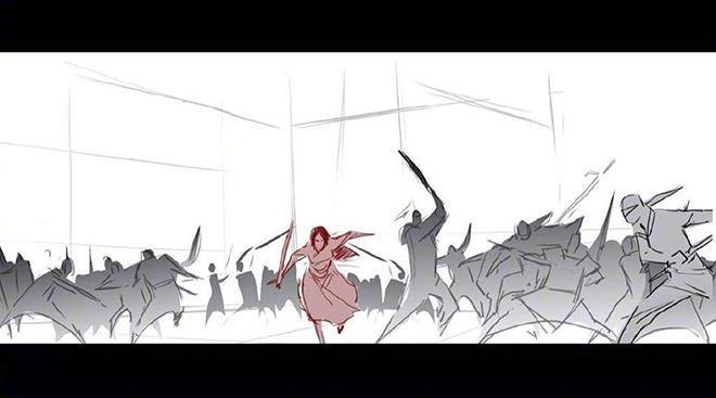 #花木兰#妮基·卡罗晒出《花木兰》故事板 致谢合作艺术家,