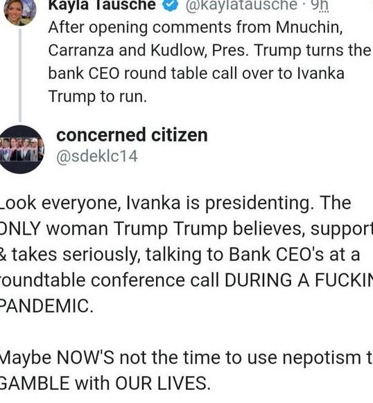 原创 特朗普当众吹捧伊万卡:她创造了1500万个工作岗位,网友:公然撒谎