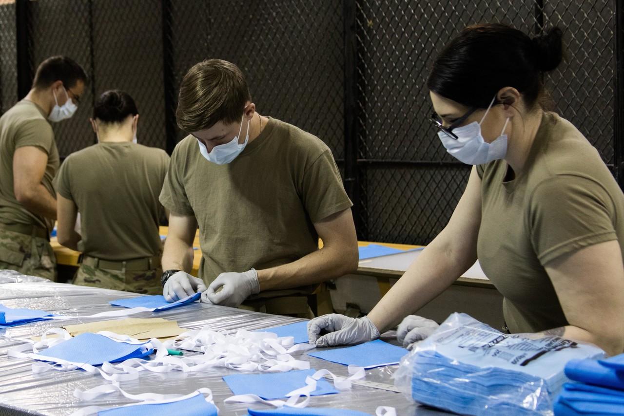 美军用3D打印自制N95口罩  美国F-35部队:效率不高 45小时造了4个