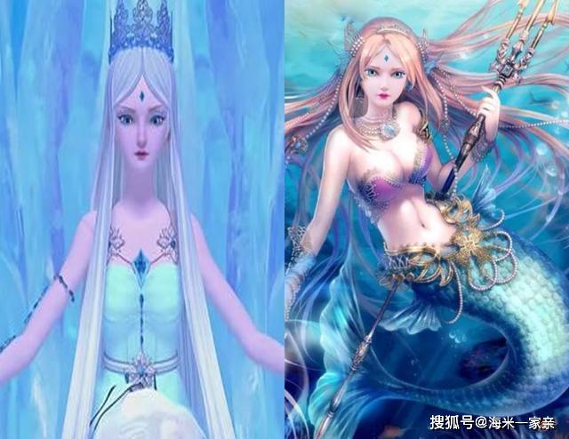 原创叶罗丽仙子化身美人鱼,陈思思像河妖,冰公主成大海之女图片