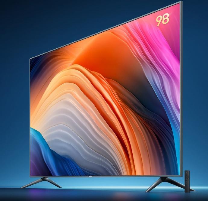 比索尼便宜50万!红米智能电视MAX今日起售:98寸4K屏