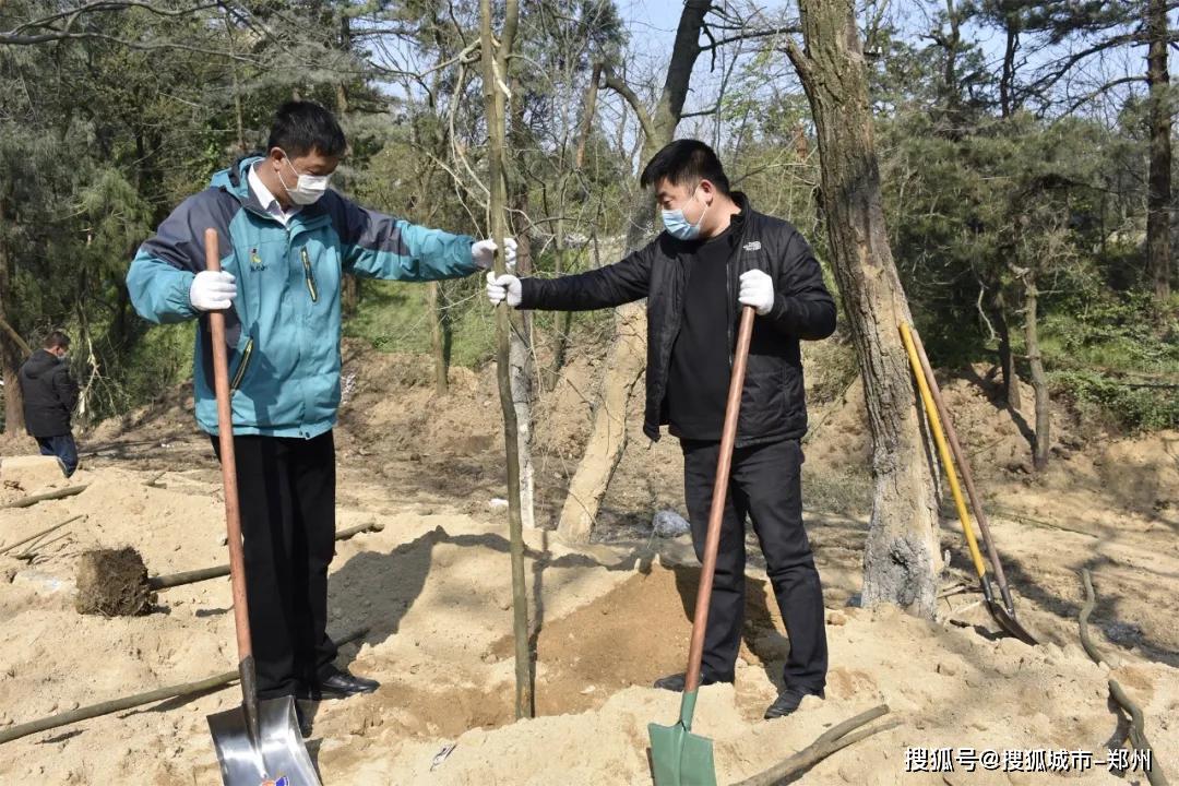 鸡公山:植树天绿正当时,全民共建绿色梦!